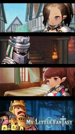 Скриншот MY Little Fantasy: Healing RPG