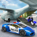 US Police Transporter Plane Simulator - icon
