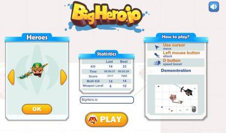 Скриншот BigHero.io