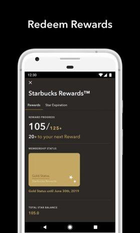 Скриншот Starbucks