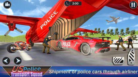 Скриншот US Robot Police Transport Squad: Cargo Plane