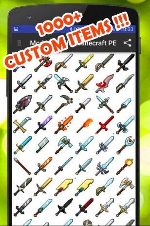 Скриншот Mod Maker for Minecraft PE