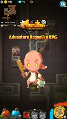 Скриншот I Monster:Dark Dungeon Roguelike RPG Legends