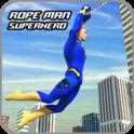 Rope Hero Crime Simulator – Miami Crime City Games - icon