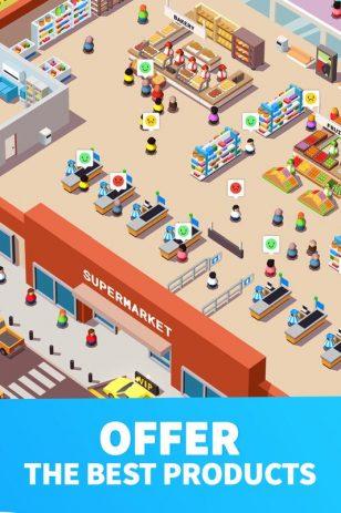 Скриншот Idle Supermarket Tycoon