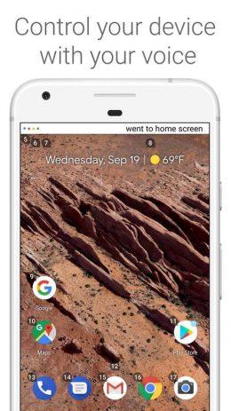 Скриншот Voice Access