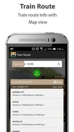 Скриншот Indian Railways