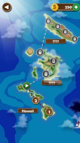 Скриншот Word Beach - увлекательная словесная головоломка