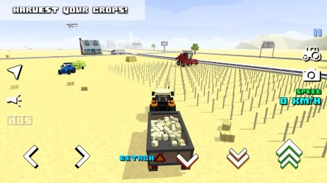 Скриншот Blocky Farm Racing