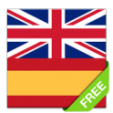 Offline English Spanish dictionary - icon