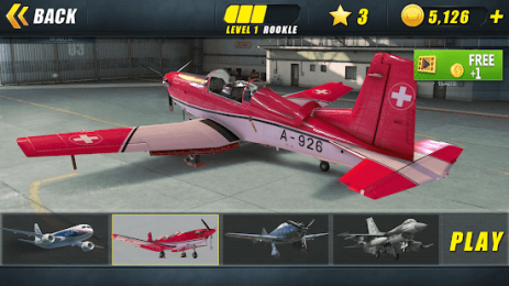 Скриншот Airplane Go: Real Flight Simulation