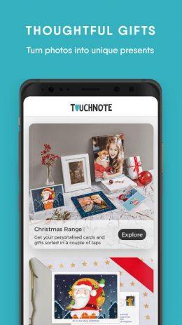 Скриншот TouchNote