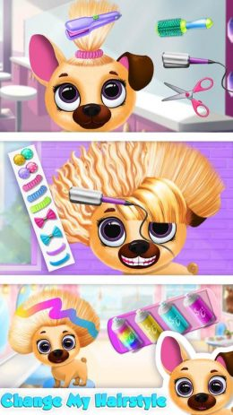 Скриншот Kiki & Fifi Pet Beauty Salon