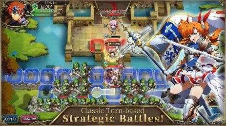 Скриншот Langrisser