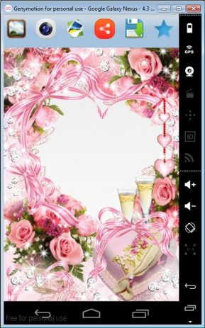 Скриншот Valentine Day Photo Frames