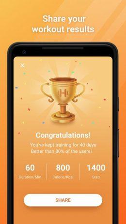 Скриншот 7 Day Fitness