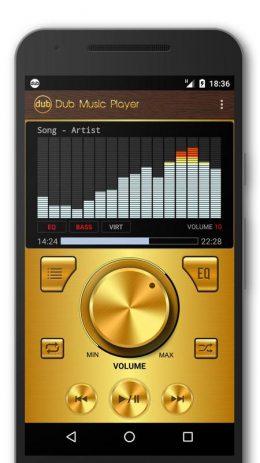 Скриншот Dub Music Player 1