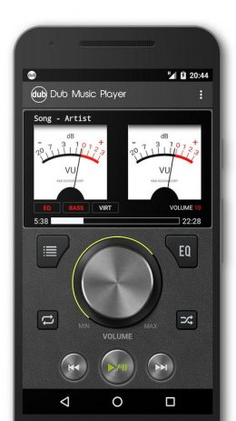Скриншот Dub Music Player 2
