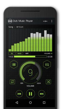 Скриншот Dub Music Player 4