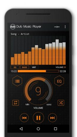 Скриншот Dub Music Player 5