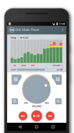 Скриншот Dub Music Player 6