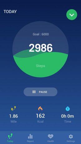Скриншот Step Counter 0