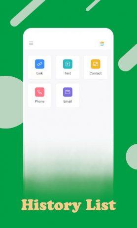 Скриншот Code Scanner App