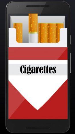Скриншот Smoking virtual cigarettes