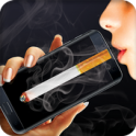 Smoking virtual cigarettes on android