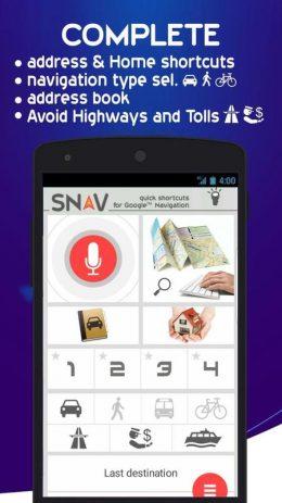 Скриншот SNAV navigator free 0