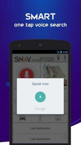 Скриншот SNAV navigator free 1