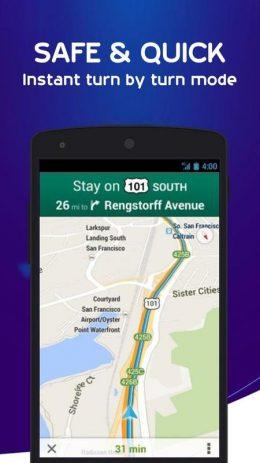 Скриншот SNAV navigator free 2