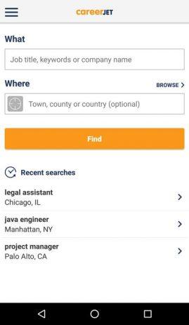 Скриншот Jobs 0