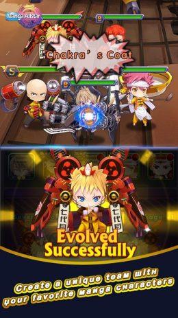 Скриншот Manga Allstar