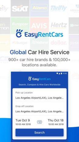 Скриншот EasyRentCars 0