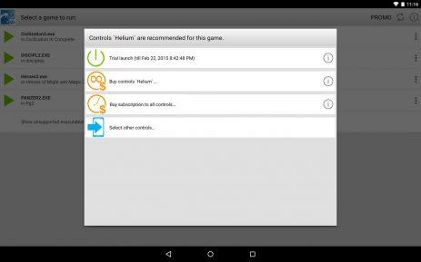 Скриншот ExaGear Strategies