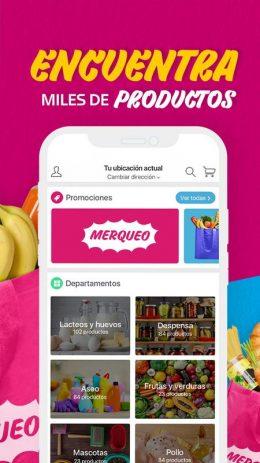 Скриншот Merqueo