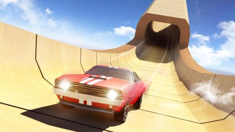 Скриншот Mega Ramp Car Impossible Stunts