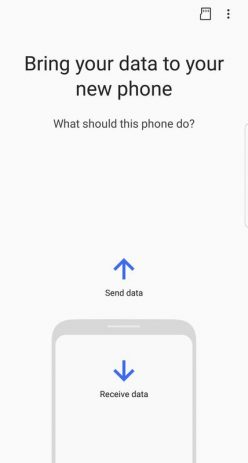 Скриншот Samsung Smart Switch Mobile