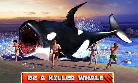 Скриншот Killer Whale Beach Attack 3D
