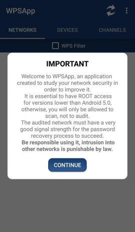 Скриншот WPSApp