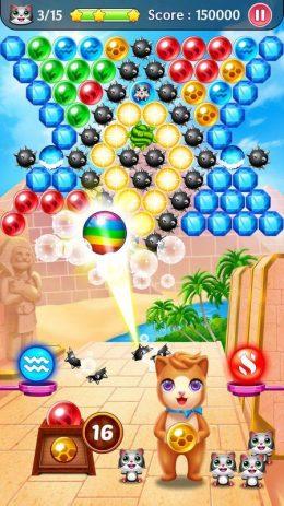 Скриншот Witch Puzzle Cat: Bubble Pop