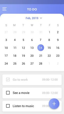 Скриншот To Do List