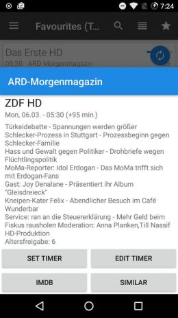 Скриншот DreamDroid
