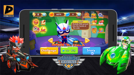Скриншот Fantastic Kart Racing
