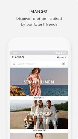 Скриншот MANGO