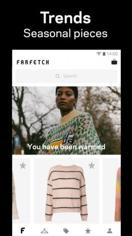 Скриншот Farfetch