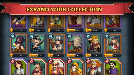 Скриншот Knights and Glory