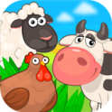 Kids farm - icon
