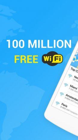 Скриншот WiFi Map 1